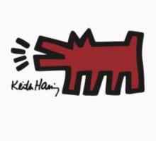 Keith Haring - Barking Dog by stewwwwwwwwww