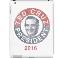 Ted Cruz for President '16 iPad Case/Skin