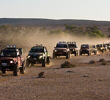 Outback Challenge Convoy by Overlander4WD