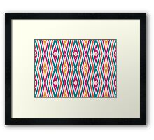 Bardi Dancers - jalalay season (spring) #2 Framed Print