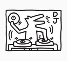 Keith Haring - Dog DJ by stewwwwwwwwww