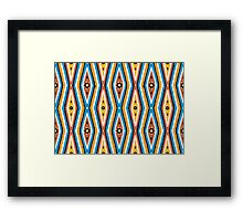 Bardi Dancers - irralb season (autumn) #3  Framed Print
