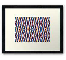 Bardi Dancers - barrgan season (winter) #3 Framed Print