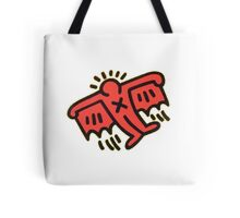 Keith Haring - Flying Devil Tote Bag