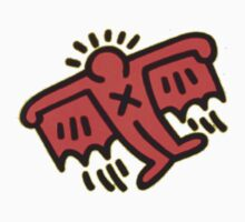 Keith Haring - Flying Devil by stewwwwwwwwww