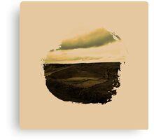 Eroded Composition | Seven Canvas Print