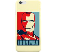 Vote for Ironman - Obamized Style iPhone Case/Skin