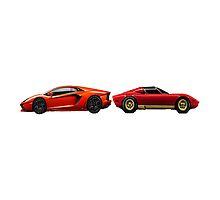 Lamborghini old vs new by Jimzo998