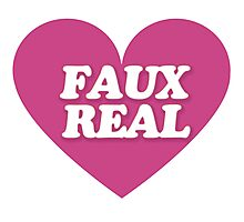 FAUX real Photographic Print
