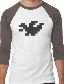 Pixel Dragon Men's Baseball ¾ T-Shirt