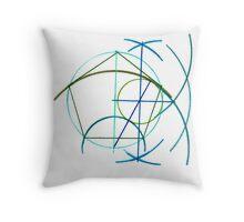 Euclidean Geometry - the Pentagon Throw Pillow