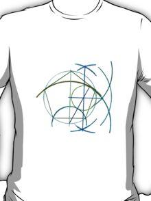 Euclidean Geometry - the Pentagon T-Shirt