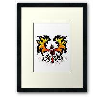 Flame Pheonix Framed Print
