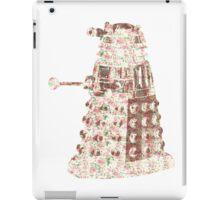 Floral Dalek iPad Case/Skin