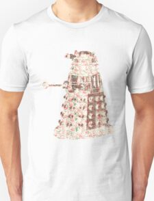 Floral Dalek T-Shirt