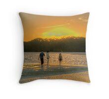 Sunset at Coff's Harbour Throw Pillow