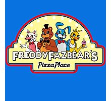 Five Nights at Freddy's 2 Freddy Fazbear's Logo  Photographic Print