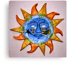 Max Sunshine Canvas Print