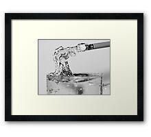 Erasing Watermarks Framed Print