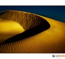 Golden Sand Dunes by Kirk  Hille