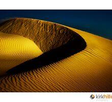 Golden Sand Dunes by Kirk  Hille