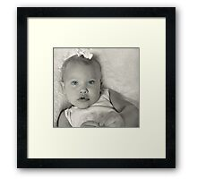 Doll Baby Framed Print