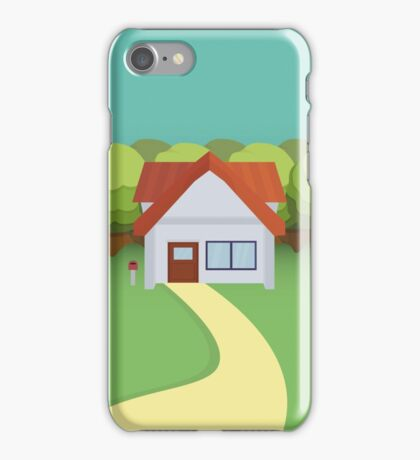Pallet Town Poster iPhone Case/Skin