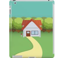 Pallet Town Poster iPad Case/Skin