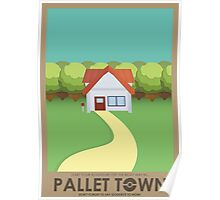 Pallet Town Poster Poster