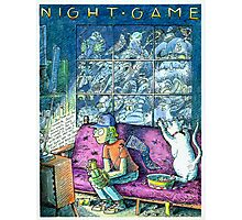 Night Game Photographic Print