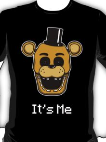 Five Nights at Freddy's Golden Freddy - It's Me T-Shirt