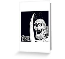 The Zombie Pirates! Greeting Card