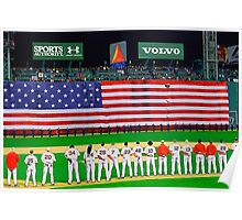 Red Sox World Series Game 1  2007 Poster
