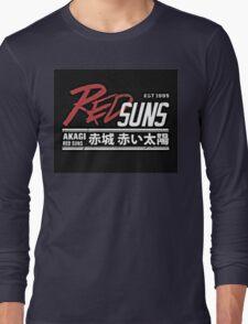 Red Suns. Long Sleeve T-Shirt
