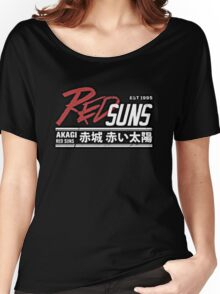 Red Suns. Women's Relaxed Fit T-Shirt