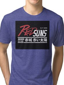 Red Suns. Tri-blend T-Shirt