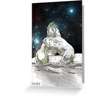 Fighting Polar Bears Justin Beck Picture 2015086 Greeting Card