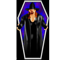 The Undertaker - Coffin Photographic Print