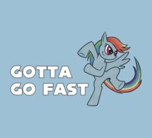 My Little Pony Rainbow Dash - Gotta Go Fast by Kaiserin