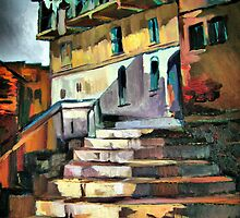 """Steps to home by """" RiSH """""""