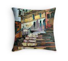 Steps to home Throw Pillow