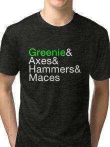 Greenie Inverse Tri-blend T-Shirt