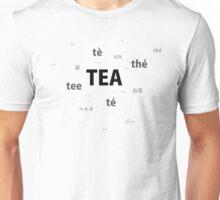 Tea - different languages Unisex T-Shirt