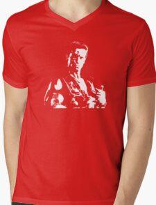 Arnold Schwarzenegger Commando No Text Mens V-Neck T-Shirt