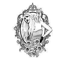 Queen of Wands Photographic Print