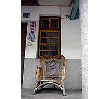 Chair and Window, Taidong Photographic Print