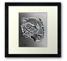 Leopard-Old-Blue-Eyes-Justin-Beck-Picture-2015098 Framed Print