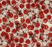 Pepperoni & Sausage Pizza by CrassService