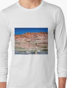 Red Rock Fence Long Sleeve T-Shirt