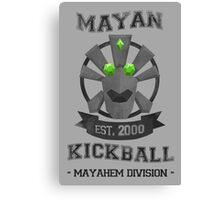 Banjo Tooie - Mayan Kickball Canvas Print